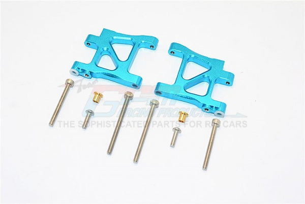 Tamiya TA02T Aluminum Rear Suspension Arm - 1Pr Set Sky Blue