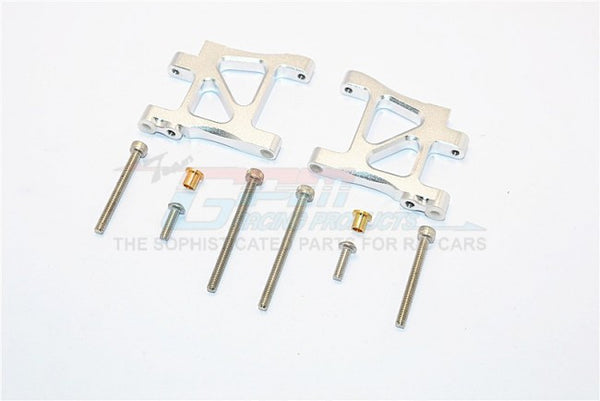 Tamiya TA02T Aluminum Rear Suspension Arm - 1Pr Set Silver