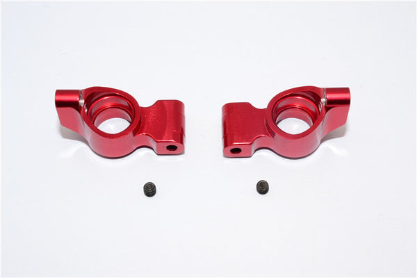 Tamiya TB04 Aluminum Rear Knuckle Arm - 1 Pr Red