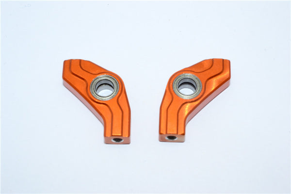 Tamiya TB04 Aluminum Front Rocker Arm - 1 Pr Orange