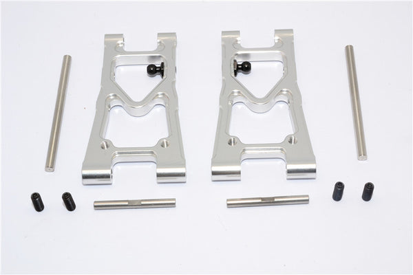 Tamiya TB04 Aluminum Rear Suspension Arm - 1Pr Silver