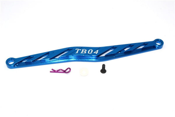 Tamiya TB04 Aluminum Battery Holder - 1Pc Blue