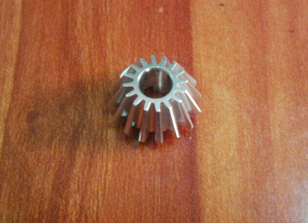 Team Associated TC4 Aluminum Differential Drive Pinion Gear - 1Pc Silver