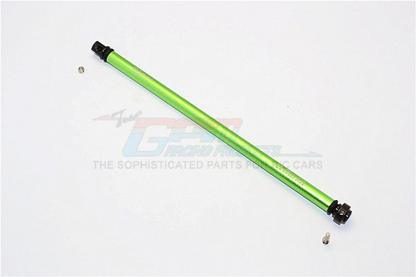 Traxxas Telluride 4X4 Aluminum Main Shaft With Hard Steel Ends - 1Pc Set Green