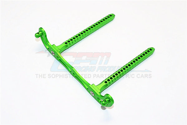 Traxxas Telluride 4X4 / Deegan 38 Fiesta ST Rally Aluminum Rear Body Post Mount - 1Pc Green