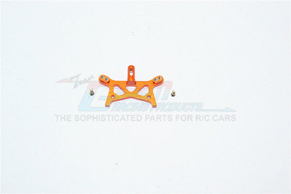 Team Losi Micro T Aluminum Front Shock Tower With Screws - 1Pc Set Orange