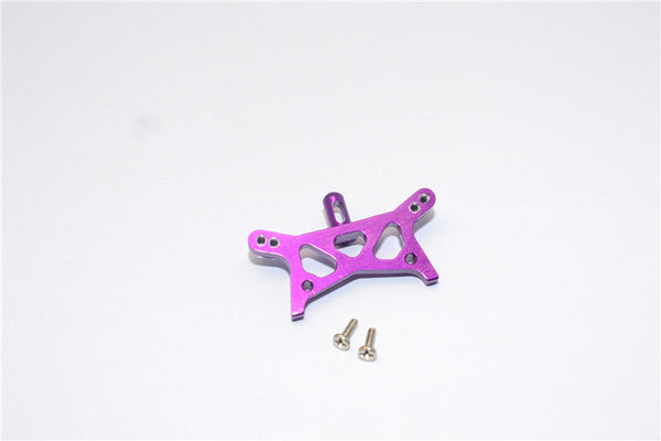 Team Losi Micro T Aluminum Front Shock Tower With Screws - 1Pc Set Purple