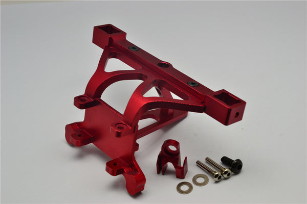 Traxxas Revo, Revo 3.3, E-Revo Aluminum Front Body Posts Mount With Screw - 1Pc Set Red