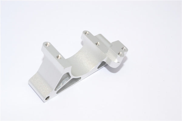 Traxxas Revo, Revo 3.3 Aluminum Engine Mount With Heatsink - 1Pc Silver