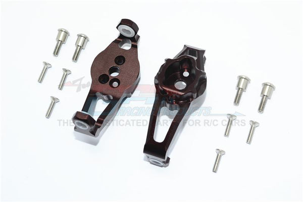 Traxxas TRX-4 Trail Defender Crawler Aluminum Front C Hubs - 1Pr Set Brown