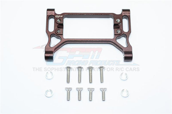 Traxxas TRX-4 Trail Defender Crawler Aluminum Front Servo Mount - 1 Set Brown