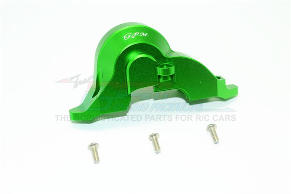 Traxxas TRX-4 Trail Defender Crawler Aluminum Transmission Upper Spur Gear Case Cover - 1Pc Set Green