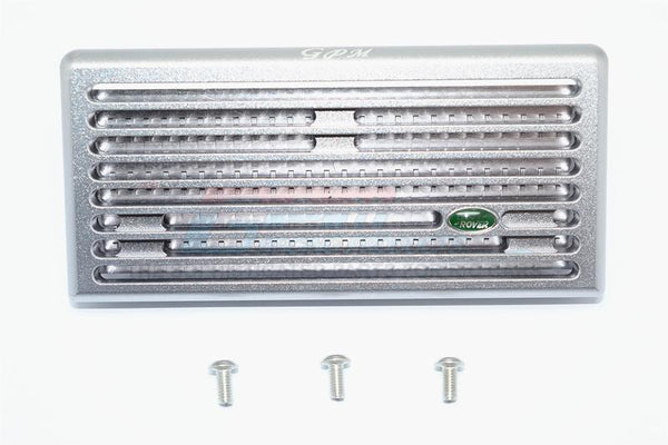 Aluminum Front Grill For TRX-4 Trail Defender Crawler - 1 Set Gary Silver