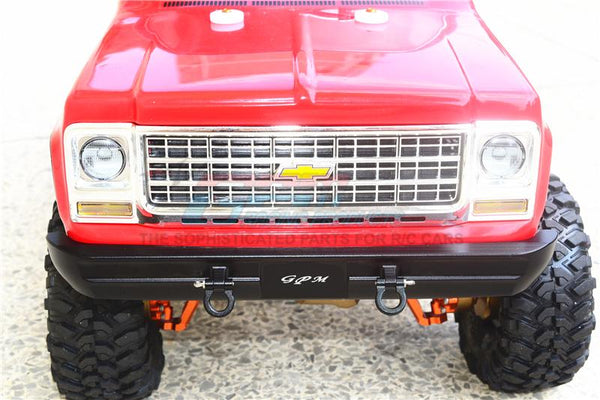 1Pc Set Red Mercedes-Benz G500 Upgrade Parts Aluminum Front Fender Stabilizing Plate Blazer Traxxas TRX-4 Ford Bronco