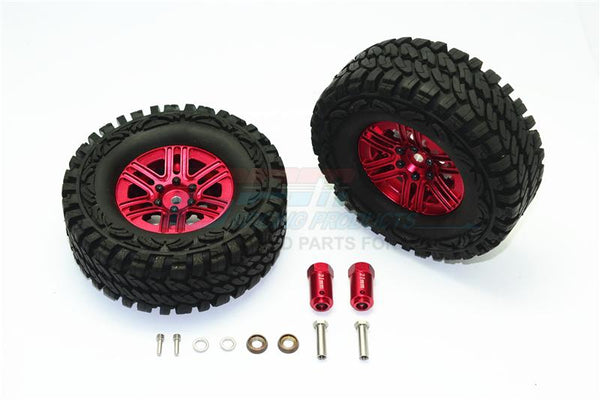 17mm Hex for TRX4 Scale Trail Crawler Alloy+Steel Extended Front//Rear Stub Axle