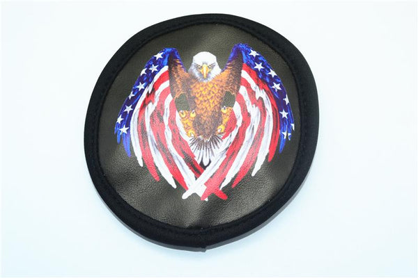 Bald Eagle Spare Tire Cover For TRX-4 Defender (82056-4) And TRX-4 Tactical Unit (82066-4) - 1Pc Black