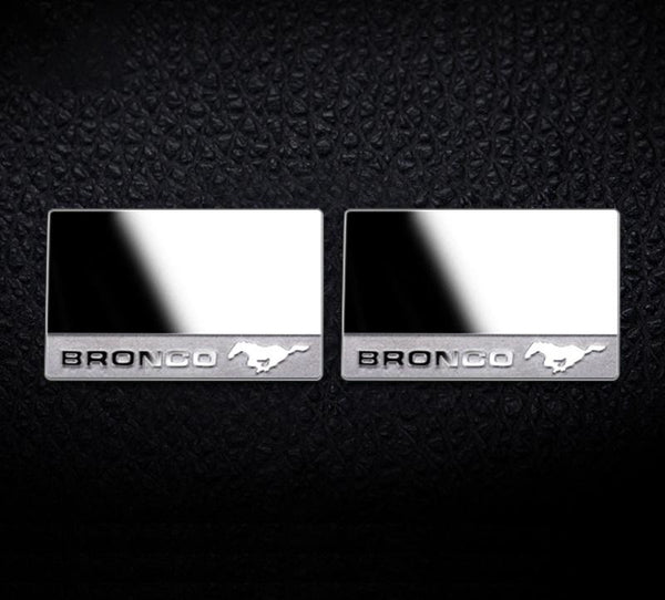 R/C Scale Accessories : Wing Mirrors For TRX-4 Ford Bronco (82046-4) - 2Pc Set