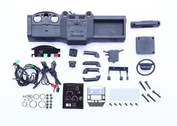 R/C Scale Accessories : Central Control Interior For Traxxas TRX-4 Trail Defender Crawler - 1 Set