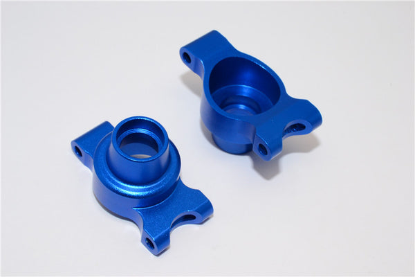 Tamiya TT-01 & TT-01D Aluminum Rear Knuckle Arm Set - 1Pr Blue