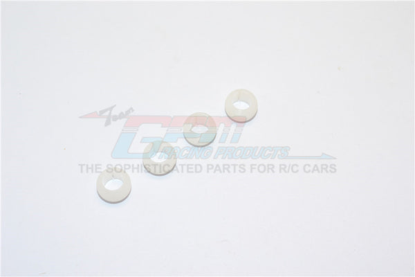 Delrin Collars For GPM Item# TT054D Drift Arm - 4Pcs White
