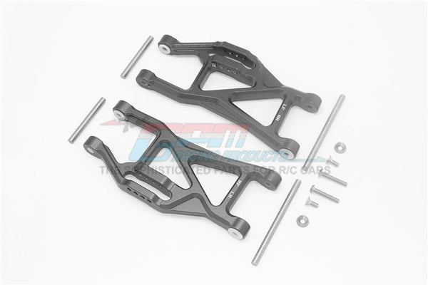 Traxxas 1/10 Maxx 4WD Monster Truck Aluminium Front Or Rear Lower Arms - 1Pr Set Black
