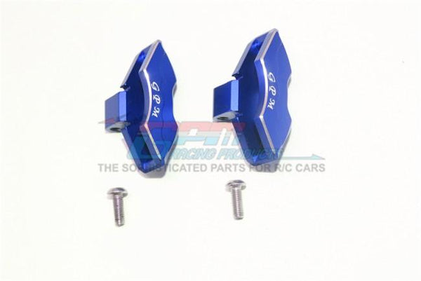 Traxxas Unlimited Desert Racer 4X4 (#85076-4) Aluminum Front/Rear Brake Caliper - 1Pr Set Blue