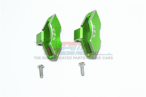 Traxxas Unlimited Desert Racer 4X4 (#85076-4) Aluminum Front/Rear Brake Caliper - 1Pr Set Green
