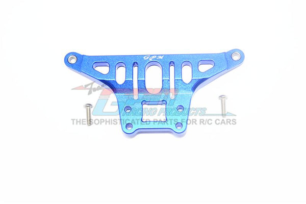 Traxxas Unlimited Desert Racer 4X4 (#85076-4) Aluminum Thickened Front Upper Arm Stabilizer - 1Pc Set Blue