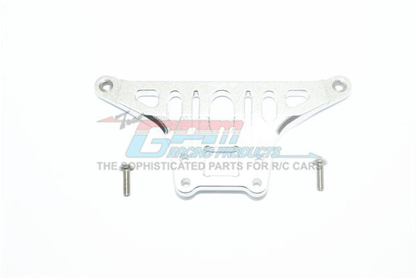 Traxxas Unlimited Desert Racer 4X4 (#85076-4) Aluminum Thickened Front Upper Arm Stabilizer - 1Pc Set Silver