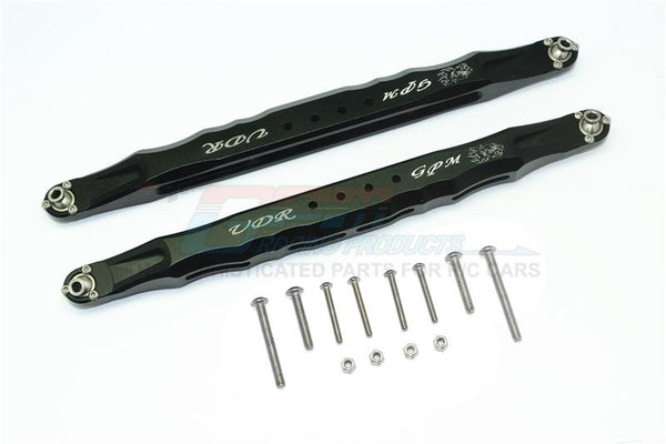 Traxxas Unlimited Desert Racer 4X4 (#85076-4) Aluminum Rear Lower Trailing Arms - 1Pr Set Black