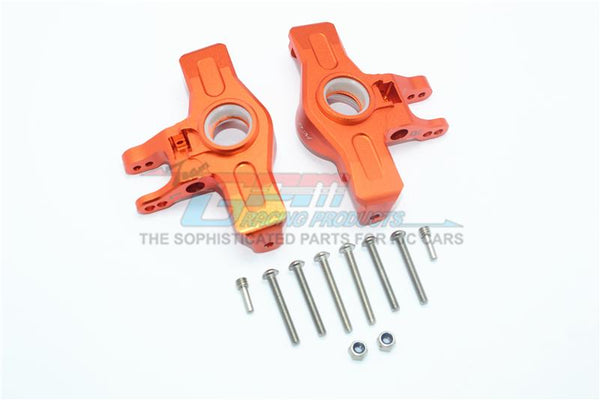 Traxxas Unlimited Desert Racer 4X4 (#85076-4) Aluminum Front Knuckle Arms - 1Pr Set Orange