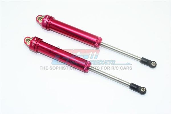 Traxxas Unlimited Desert Racer 4X4 (#85076-4) Aluminium Rear Internal Shocks (160mm) - 2Pc Set Red