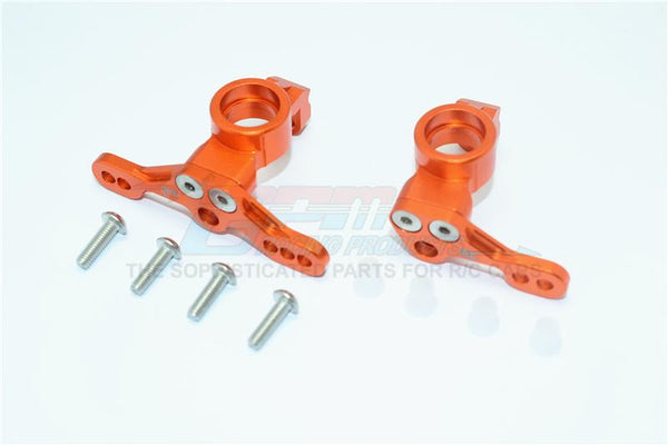 HPI Venture Toyota FJ Cruiser Aluminum Adjustable Front Knuckle Arm - 1Pr Set Orange