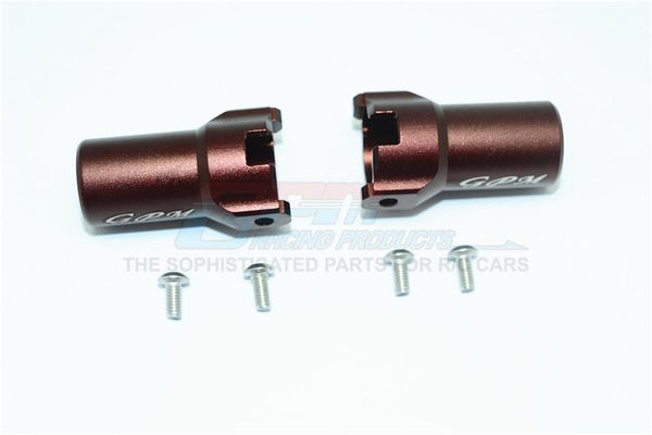 HPI Venture Toyota FJ Cruiser Aluminum Rear Axle Adapter - 1Pr Set Brown