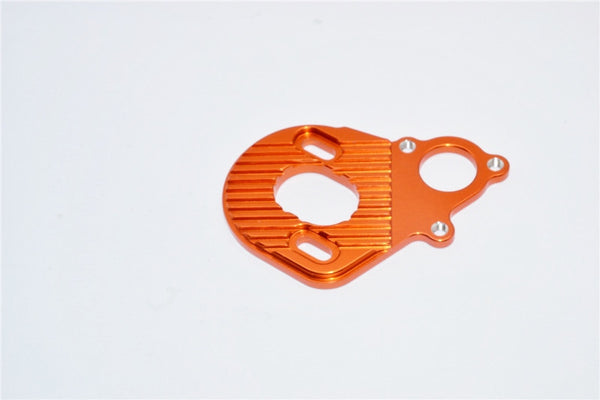Axial Wraith & Wraith Spawn Aluminum Motor Plate For AX10 Scorpion - 1Pc Orange