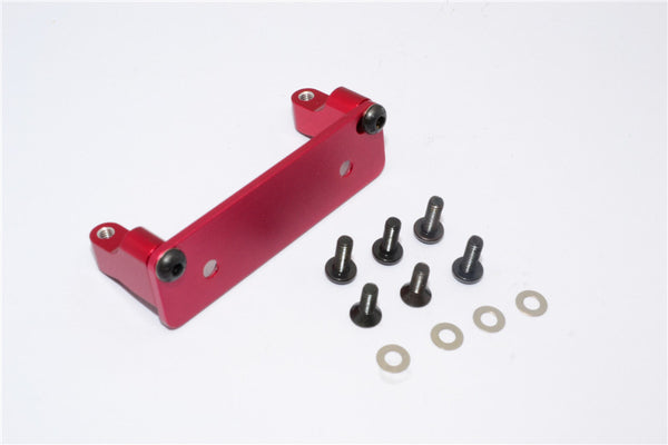 Axial Wraith & Wraith Spawn Aluminum Servo Mount - 3Pcs Set Red