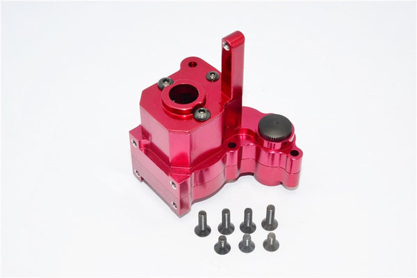 Axial Wraith & Wraith Spawn Aluminum Center Transmission Case - 3Pcs Set Red