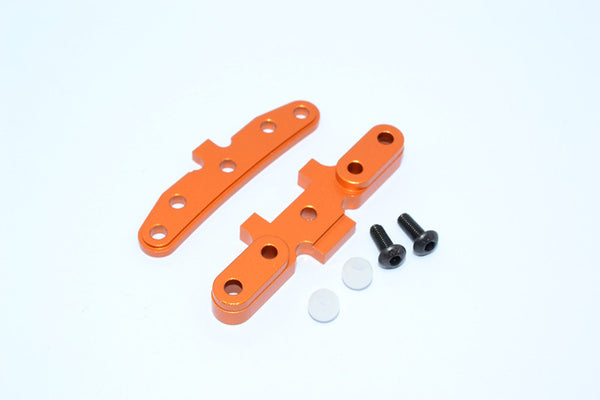 HPI WR8 Flux Aluminum Rear Arm Bulk - 1Pr Set Orange