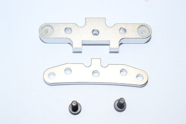 HPI WR8 Flux Aluminum Rear Arm Bulk - 1Pr Set Silver