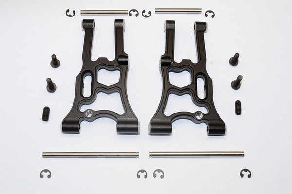 HPI WR8 Flux Aluminum Front Suspension Arm - 1Pr Set Black