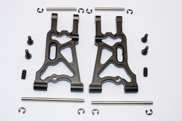 HPI WR8 Flux Aluminum Rear Suspension Arm - 1Pr Set Black