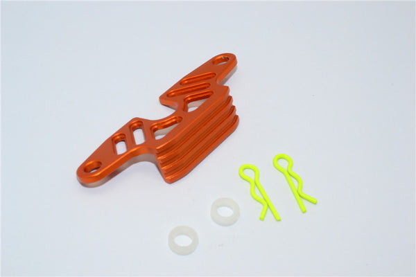 Tamiya WR02C Aluminum Battery Holder - 1Pc Set Orange