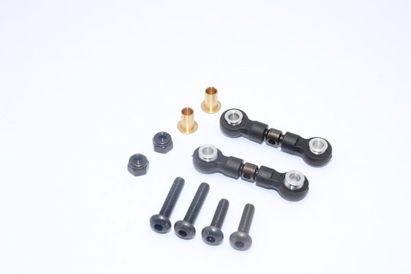 Tamiya Wild Willy 2 Spring Steel Front Upper Tie Rod - 1Pr Set