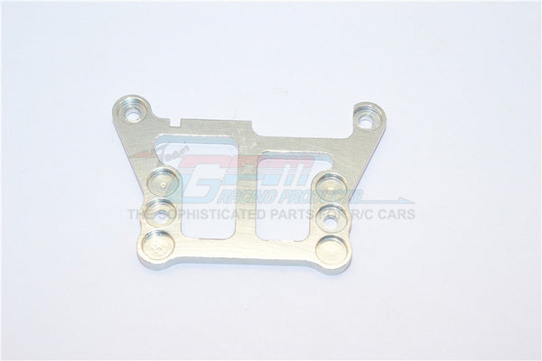 XMods Generation 1 Aluminum Front Upper Plate Connects To Front Gear Box - 1Pc Silver