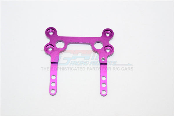 XMods Generation 1 Aluminum Rear Upper Plate Connects To Rear Gear Box - 1Pc Purple