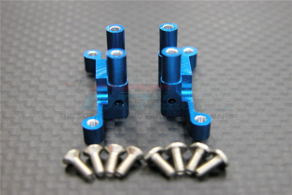 XMods Generation 1 Aluminum Rear Gear Box With Screws - 1Pr Set Blue