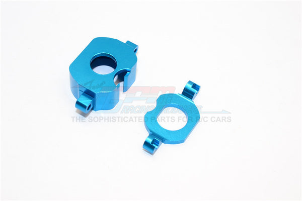 XMods Generation 1 Aluminum Motor Heatsink Mount - 2Pcs Blue