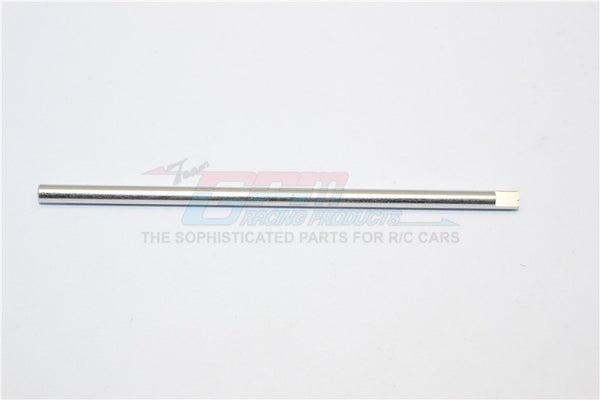 XMods Generation 1 Aluminum Center Shaft (Original Size For 2WD) - 1Pc Silver