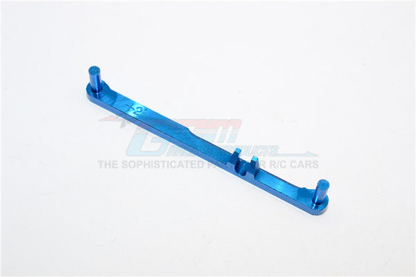 XMods Generation 1 Aluminum Steering Plate (Toe-In 2 Deg) - 1Pc Blue