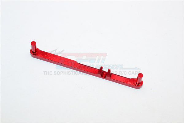 XMods Generation 1 Aluminum Steering Plate (Toe-Out 1 Deg) - 1Pc Red
